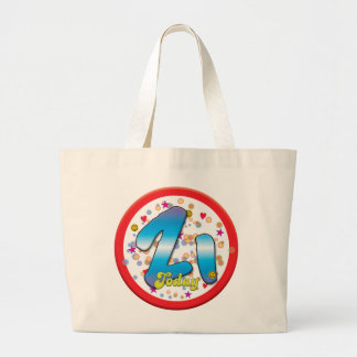 21st Birthday Today Canvas Bags