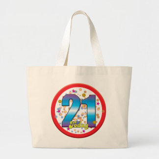 21st Birthday Today v2 Canvas Bags