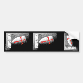 21st Century Crusade Car Bumper Sticker
