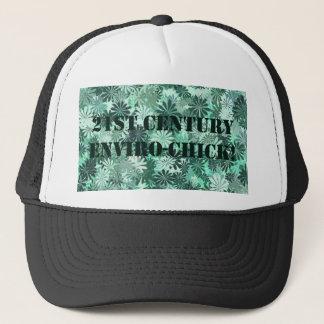 21ST CENTURY ENVIRO CHICK TRUCKER HAT