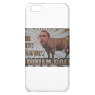 21st Century Golden Calf Cover For iPhone 5C