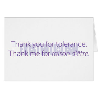 21st century thank you notes. card