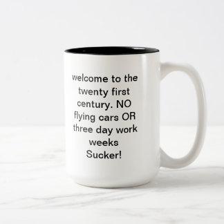 21st century Two-Tone coffee mug