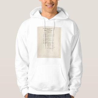 21st Constitutional Amendment Ending Prohibition Hooded Sweatshirts