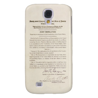 21st Constitutional Amendment Ending Prohibition Samsung Galaxy S4 Cover