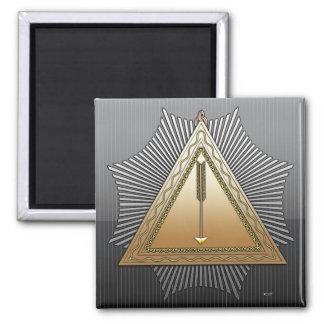 21st Degree: Patriarch Noachite 2 Inch Square Magnet