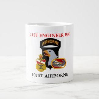 21ST ENGINEER BATTALION (AIR ASSAULT) JUMBO MUG