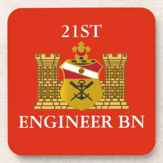 21ST ENGINEER BATTALION DRINK COASTERS