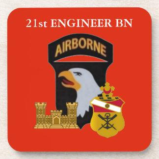21ST ENGINEER BN 101ST AIRBORNE DRINK COASTERS