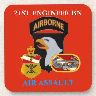 21ST ENGINEER BN (AIR ASSAULT) DRINK COASTERS