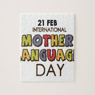 21st February - International Mother Language Day Jigsaw Puzzle