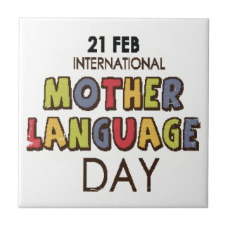 21st February - International Mother Language Day Tile