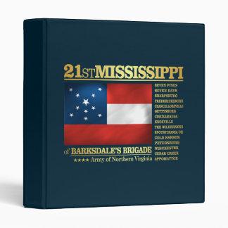 21st Mississippi Infantry (BA2) Binder