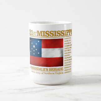 21st Mississippi Infantry (BA2) Coffee Mug