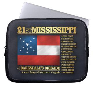 21st Mississippi Infantry (BA2) Computer Sleeve