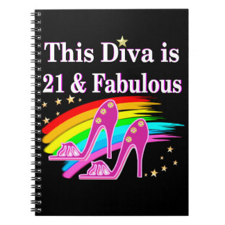 21ST SHOE QUEEN NOTEBOOK