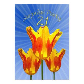 21st Surprise Birthday Party Invitation