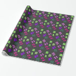 21st twenty one birthday gift wrapping paper