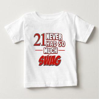 21st year anniversary t-shirt
