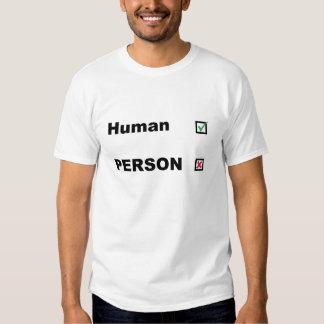 21stCenturyPolitix - Human not PERSON shirt