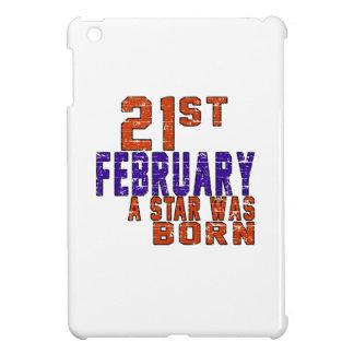 21th February a star was born iPad Mini Cases
