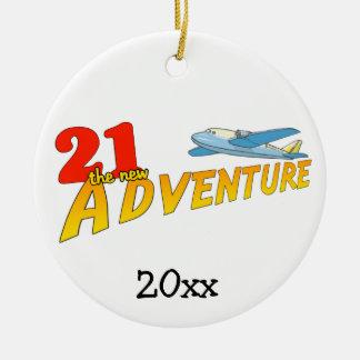 21The New Adventure Plane Keepsake Ornament