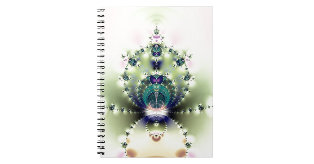 Fractalized Notebooks & Journals
