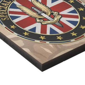 [220] Special Air Service (SAS) Badge [3D] Panel Wall Art
