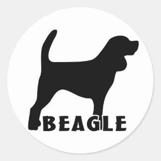 2215042007 Beagle (Animal) Classic Round Sticker