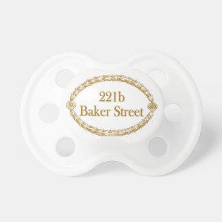 221b Baker Street Baby Pacifiers