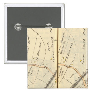 222223 Harrison, Mamaroneck Pin Cuadrada 5 Cm