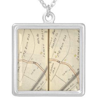 222223 Harrison, Mamaroneck Square Pendant Necklace