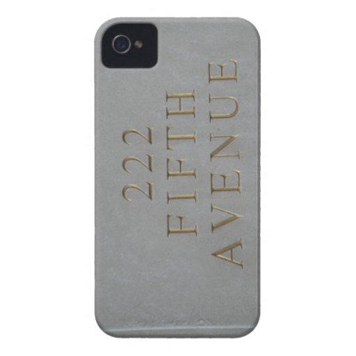 222 Fifth Avenue Iphone Case iPhone 4 Case-Mate Cárcasa