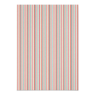 222 MODERN CANDYCANE COLOR STRIPES PATTERN BACKGRO CARD