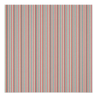 222 MODERN CANDYCANE COLOR STRIPES PATTERN BACKGRO POSTER