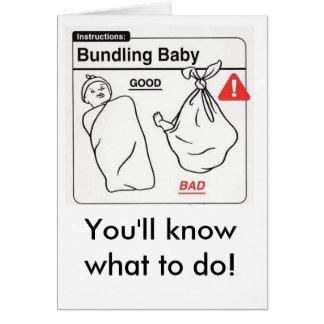 ¡2234793653_5bdc9308f5_o, usted sabrá qué hacer! tarjeta de felicitación