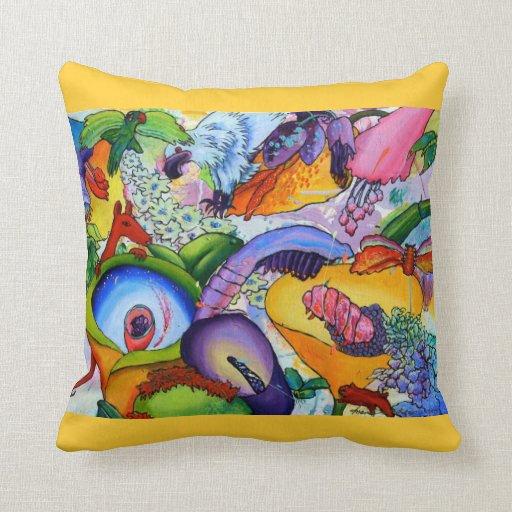 2239 In Our Garden Pillow - Crocus