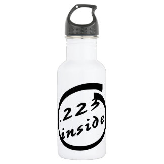 .223 Inside AR-15 18oz Water Bottle