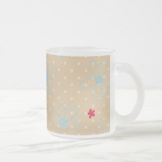 223 LIGHT TAN BLUE RED BEIGE NEUTRAL PASTEL COLORS COFFEE MUGS