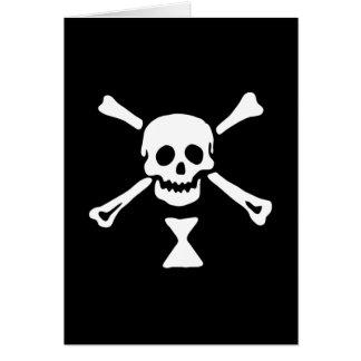 22427-pirate-flag-emanuel-wynne-vector PIRATE SKUL Greeting Cards
