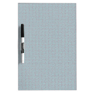224 LIGHT BLUE BACKGROUND RED NUMBERS RANDOM NUMBE Dry-Erase WHITEBOARDS