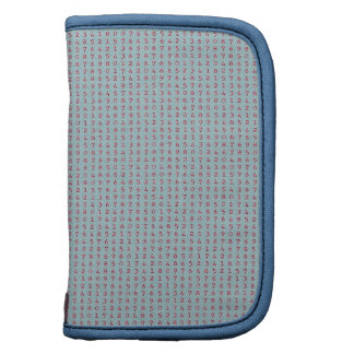 224 LIGHT BLUE BACKGROUND RED NUMBERS RANDOM NUMBE ORGANIZERS