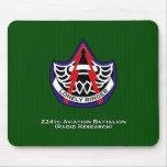 224o Batallón de la aviación (investigación de rad Alfombrillas De Raton