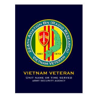 224o Bn RR 1 de los Avn - ASA Vietnam Postales