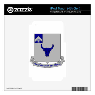 224th Armored Infantry iPod Touch 4G Decals