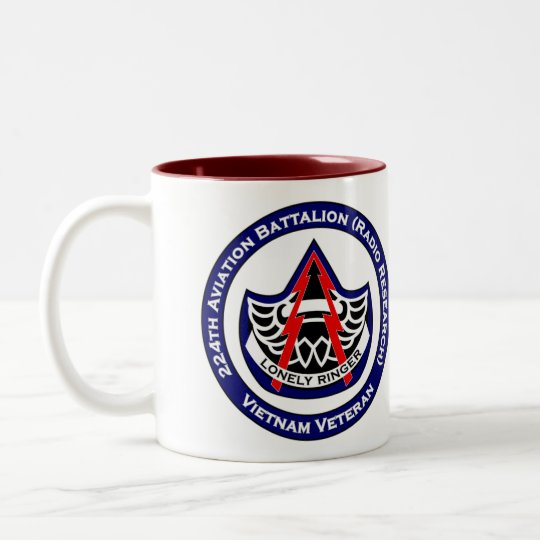 224th Avn 2 Two-Tone Coffee Mug