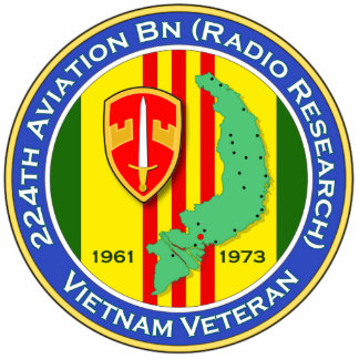 224th Avn Bn RR 1b - ASA Vietnam Statuette