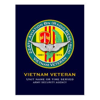 224th Avn Bn RR 2 - ASA Vietnam Postcard