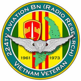 224th Avn Bn RR 2 - ASA Vietnam Statuette
