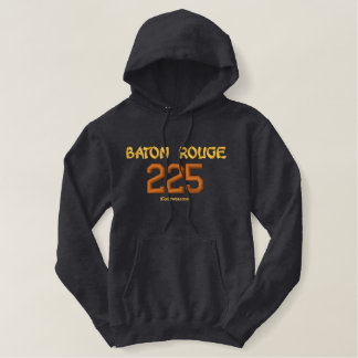 225 Baton Rouge Embroidered Hoodie